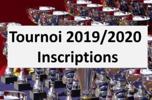 Tournoi Senior Dames et Hommes 2019/2020