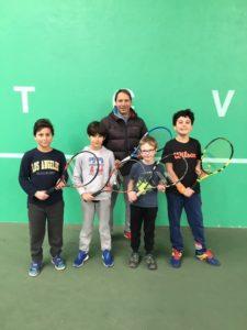 Stage de tennis – vacances de février